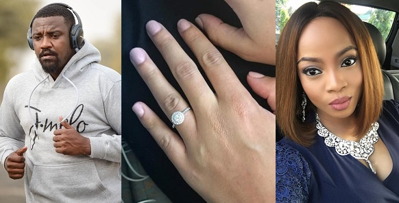 john dumelo engaged