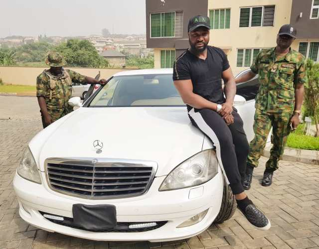 Harrysong acquires bulletproof car