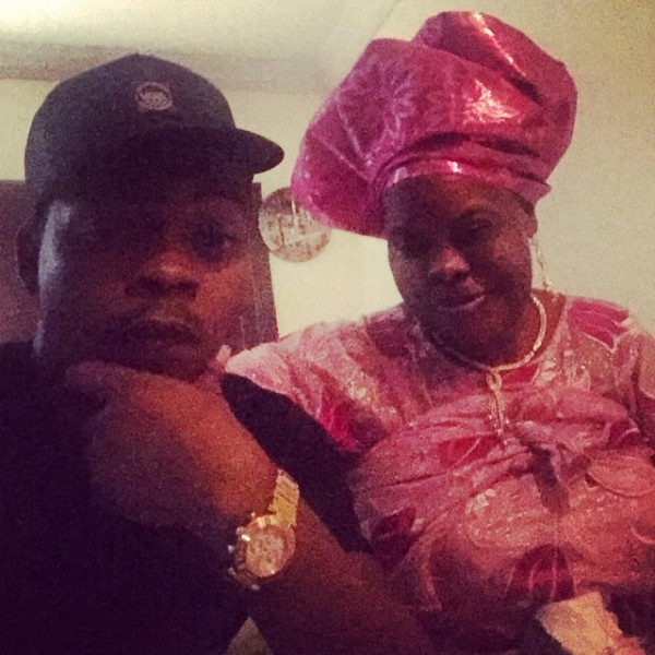 Olamide loses mom