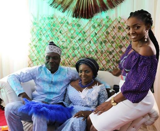 More photos from the wedding of Simi's 60-year-old mum