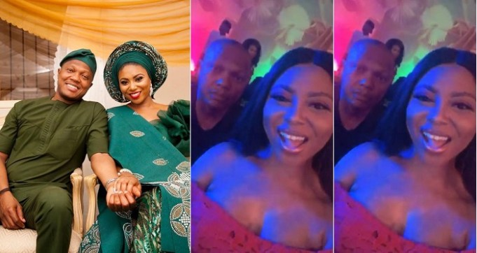 Stephanie Coker's Husband David Aderinokun Parties Hard