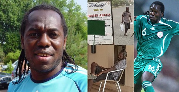 Image result for Ex Super Eagles Player Oruma Suffers Mental Disorder After Been Duped By A Pastor