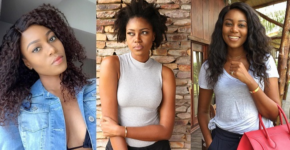 Yvonne Nelson back on movie set after giving birth