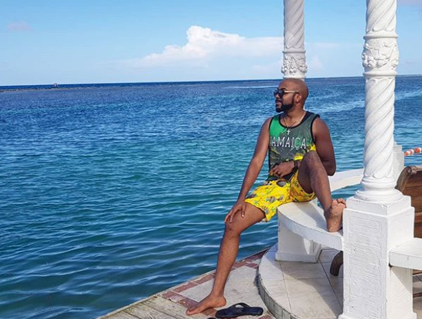 Adesua-Etomi-2-1 Banky W and Wife, Adesua share lovely photos from their vacation in Jamaica.