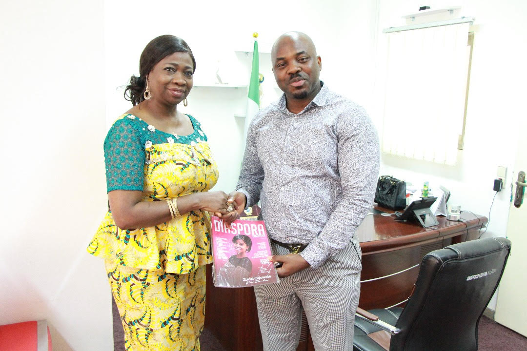 Abike Dabiri meets Nigerian man