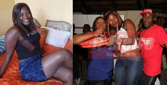 Zimbabwean Prostitute Celebrates