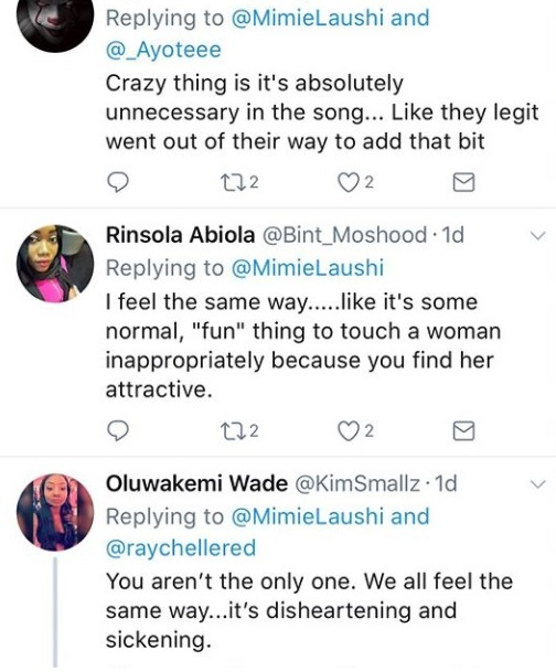 """Uncle stop touching"" some Nigerian ladies are angry with Kiss Daniel's lyric"