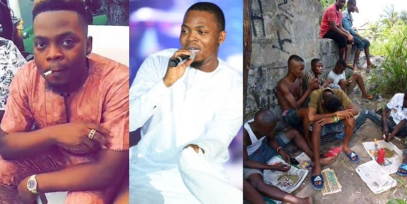 Say no to drug abuse. Don`t abuse alcohol. stop mixing what you don't know about — Olamide to science students
