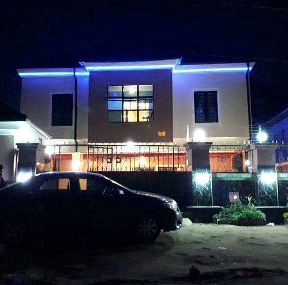 Osita Iheme newly completed hotel