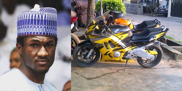 Yusuf Buhari discharged from hospital after power bike accident