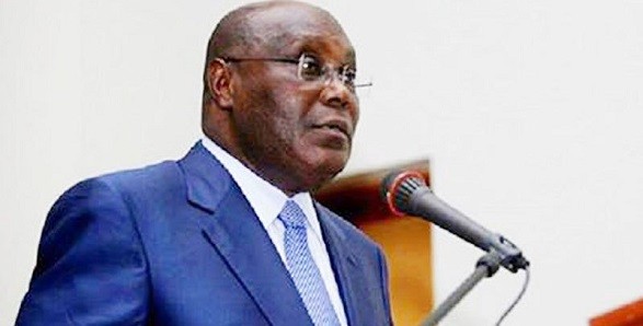 Image result for (Video) We must kill the snake swallowing our money before it kills us - Atiku Abubakar