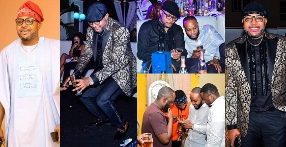 Photos From E-Money's 36th Birthday Celebration At His Five Star Mansion.