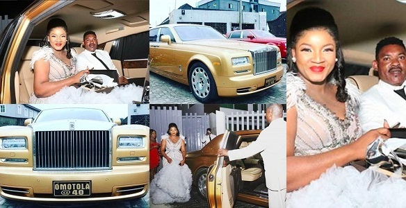 Omotola celebrates 40th birthday