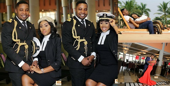 Lovely Pre-Wedding Photos Of A Naval Officer & His Lawyer Wife