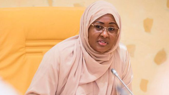 Aisha Buhari tells Nigerians 'Choose between wealth Poverty' when voting