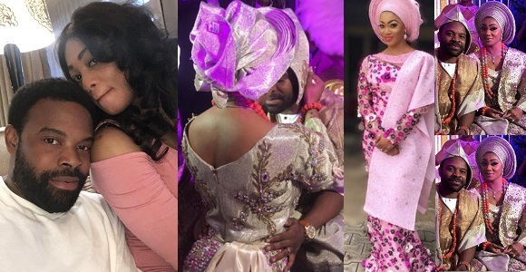 Image result for Photos From The Traditional Wedding Of Actor Gabriel Afolayan And Adebanke