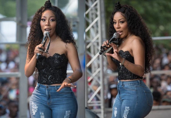 k2 - Singer K. Michelle reveals how she almost died from butt reduction surgery