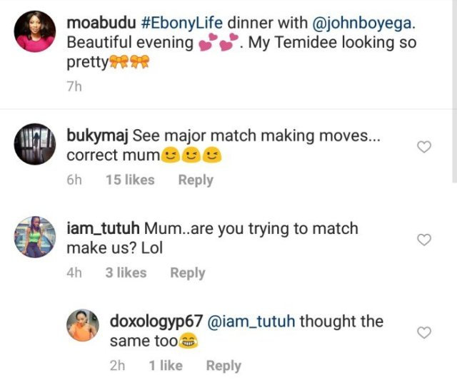 Is Mo Abudu trying to match-make her daughter with John Boyega?