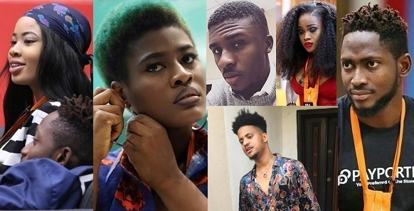 #BBNaija: Nina, Miracle, Lolu, CeeC, Rico & Alex all up for Eviction