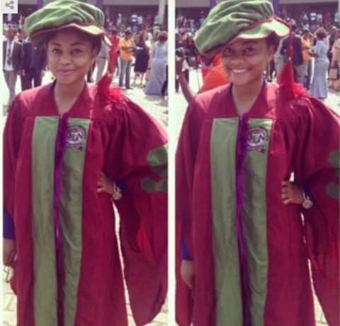 phd2 - 25 year old Nigerian Lady bags a PhD at Covenant University