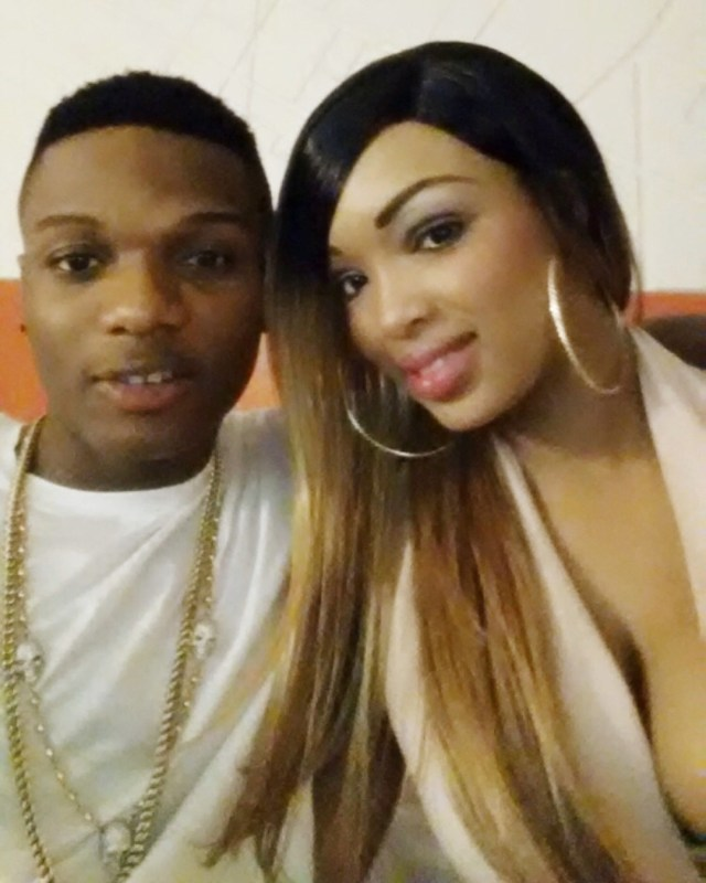 Wizkid's second babymama angrily reacts, says she was not a one night stand, posts pictures of herself & Wizkid when they were still dating