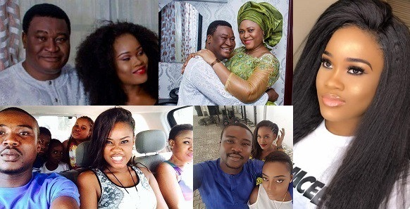 Cee-C praises her father with sweet words to celebrate his birthday