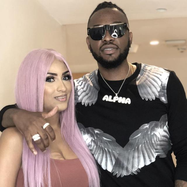 """Iceberg out, Teddy A in"" – Fans react to Juliet Ibrahim's photo with Teddy A"