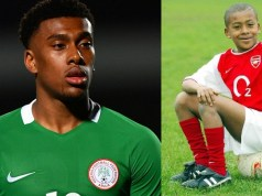 Footballer Alex Iwobi