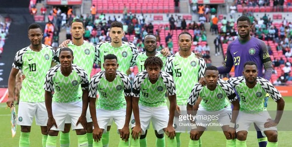 Russia stops Nigeria fans