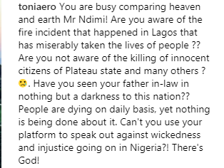 Ahmed Indimi says his Father-in-law did not cause Plateau killings and Lagos explosion