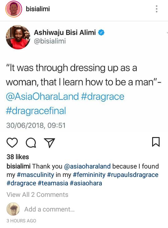 Bisi Alimi says