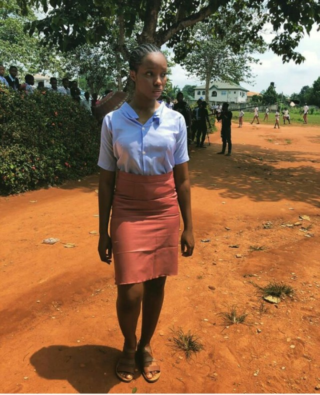 Don Jazzy reacts to viral photos of Bambam wearing Secondary School Uniform