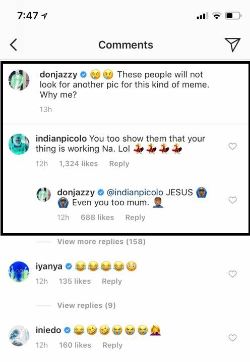 Don Jazzy teased