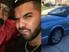 Drake gifts dad