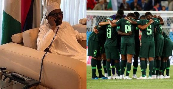 President Buhari called