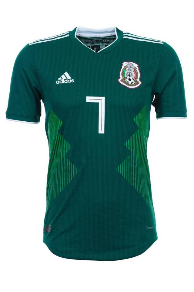 6e5ab9d78 GQ ranks Super Eagles  Jersey as Best World Cup 2018 Kit (Full List)