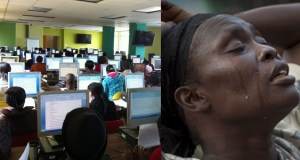 Arrested Nigerian mother