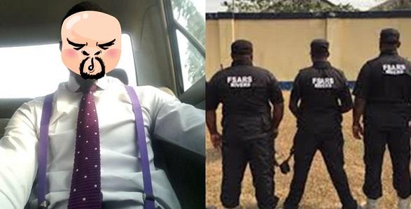 SARS officer went