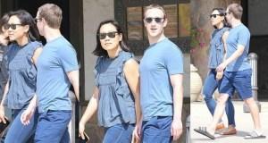 Mark Zuckerberg & wife