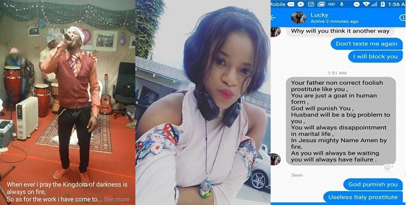 Nigerian Lady exposes Pastor
