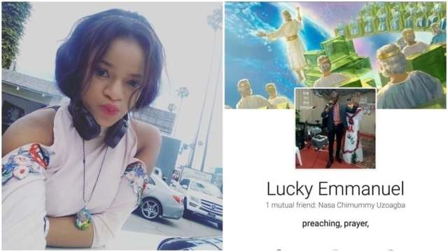 Nigerian Lady exposes Pastor who cursed her for refusing to date him