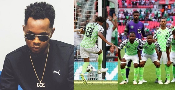 """World cup is not for boys"""" – Patoranking reacts to Super Eagles' loss to Croatia"""