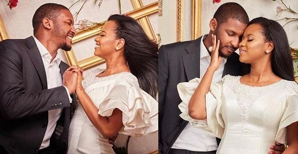 Billionaire bride Hauwa Indimi and Groom Mohammed Yar'Adua dazzles in stunning photos.