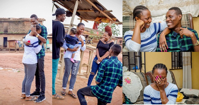 Nigerian Man proposes to his girlfriend on the same spot they met five years ago ..