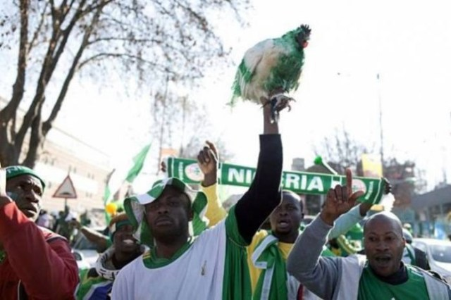 #WorldCup2018: Russia stops Nigeria's fans from bringing live chicken to stadium