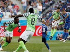 Super Eagles Trash Iceland