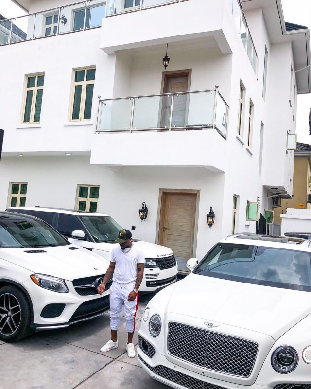 Davido Bentley Bentyaga