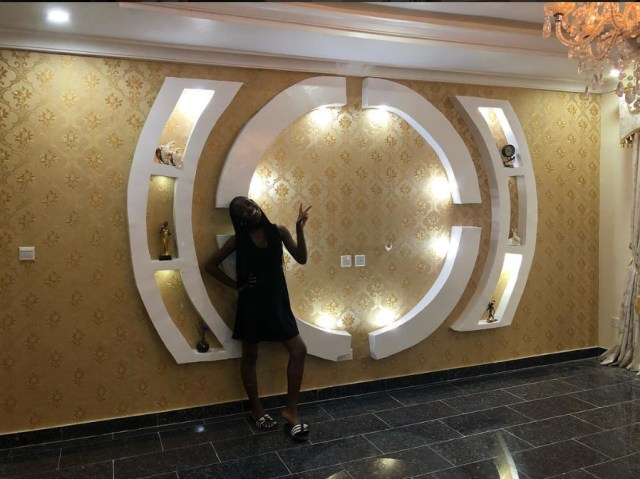 Mercy Aigbe flaunts