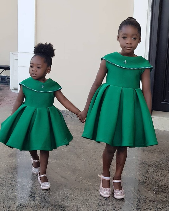 Mercy Johnson daughters