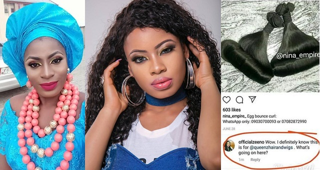 Nigerian Lady calls out Nina